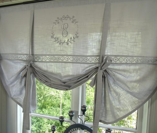 raff gardine crystal grau 80x120 cm raffgardinen rollos gardinen lillabelle. Black Bedroom Furniture Sets. Home Design Ideas