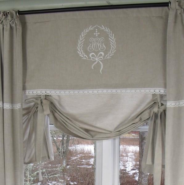 raff gardine amalie sand rollo 80x100 cm raffgardinen rollos gardinen lillabelle. Black Bedroom Furniture Sets. Home Design Ideas