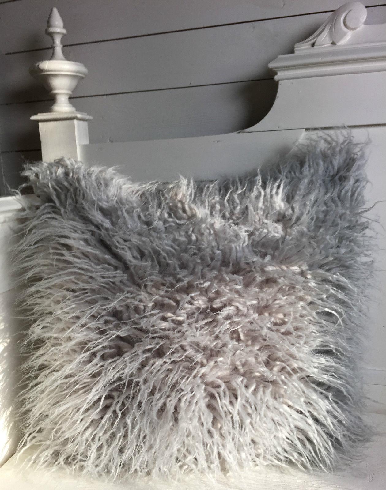 kissenbezug giada grau 45x45 cm flausch kissenbez ge. Black Bedroom Furniture Sets. Home Design Ideas