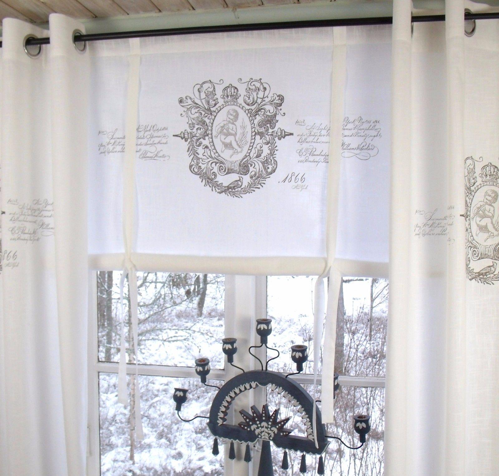 raff gardine jeanne weiss rollo 100x100 cm raffgardinen rollos gardinen lillabelle. Black Bedroom Furniture Sets. Home Design Ideas